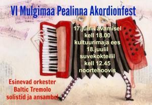 akordionfest-Plakat