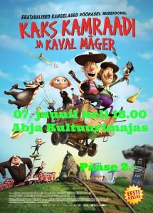 kaks_kamraadi_ja_kaval_mager_poster