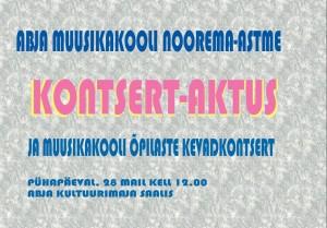 MK kevadkontsert