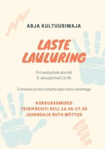 LASTE LAULURING